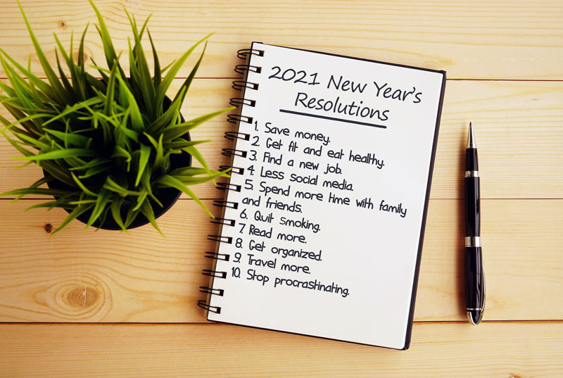 Keep new years resolutions