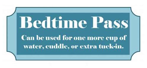 Bedtime Pass