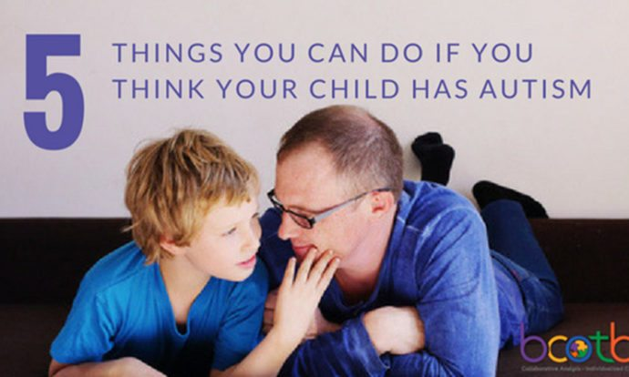 five things to check for autism